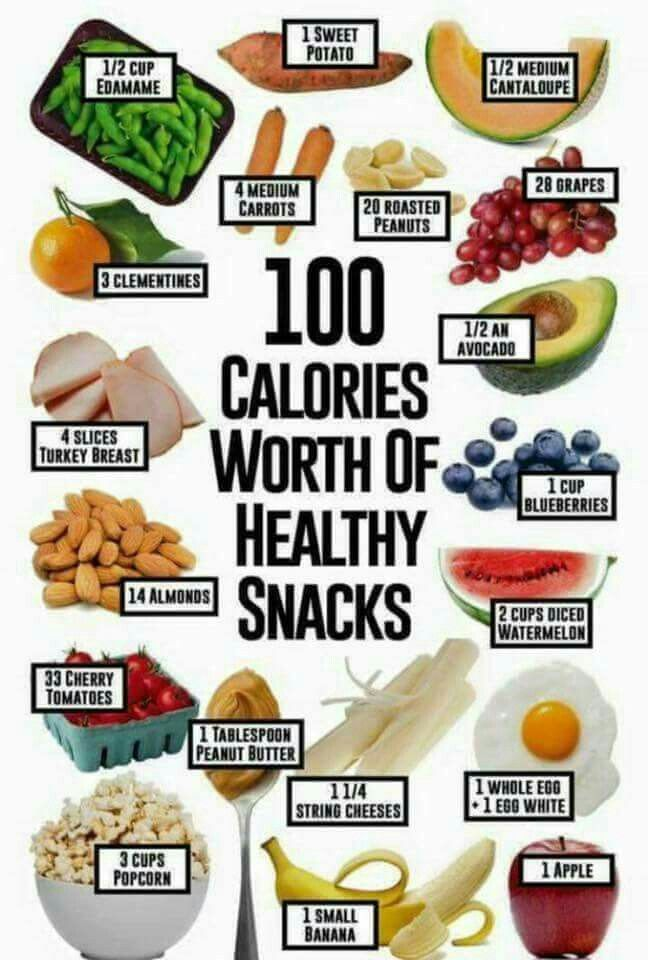 100 calorie snack