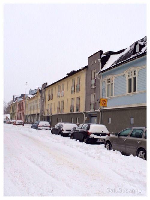 Snowy Vallila Helsinki, Finland