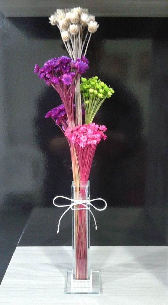 Arranjo Flores Secas Enfeite de Mesa   Ateliê de Decoração by Casa Da Cris   Elo7
