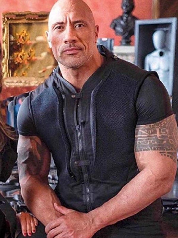 Fast And Furious Hobbs And Shaw Dwayne Johnson Vest Dwayne