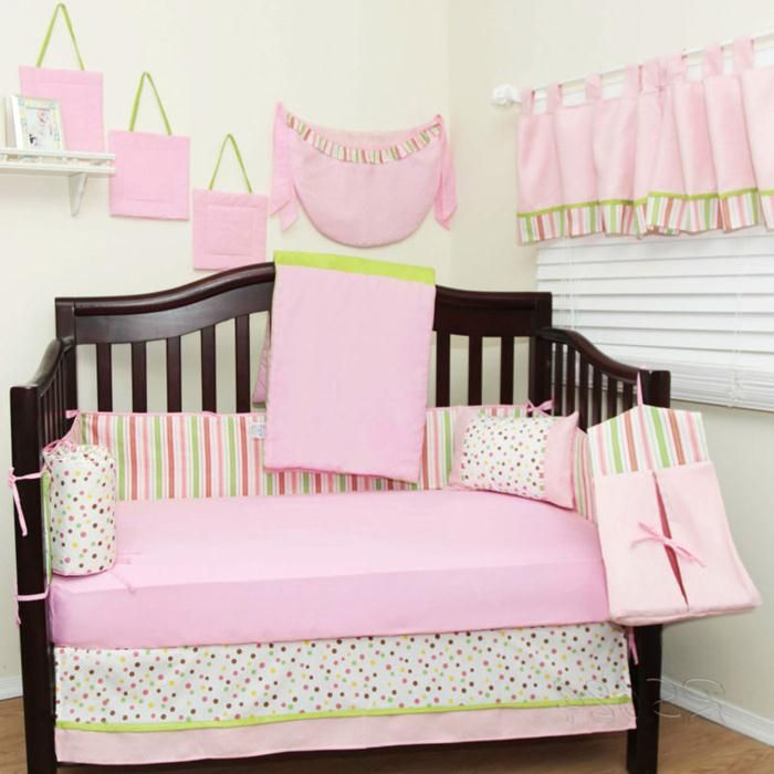 Simple Baby Girl Nursery Ideas   #nursery Decorating Ideas With Pink Colors
