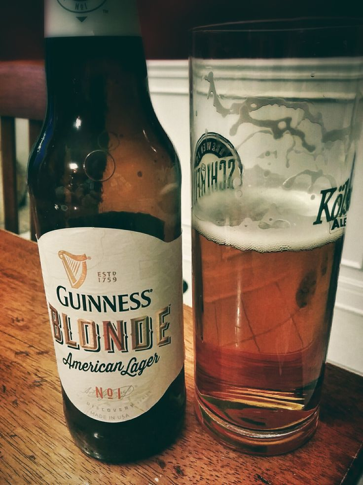 $8 Guiness Blonde, 6 Pack. .................................................... 1930's style American Pale Lager that's crisp, light,  flavorful, with a little more hops, malt, & citrus. ▼ http://www.binnys.com/all/GUINNESS+BLONDE
