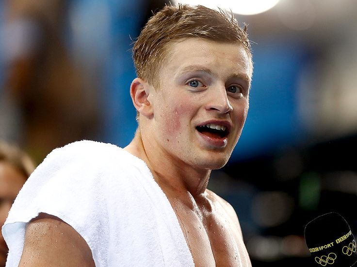 British Swimmer Adam Peaty Is Overwhelmed After Setting a World Record in His First-Ever Olympic Swim (and It's Not Even the Finals!)