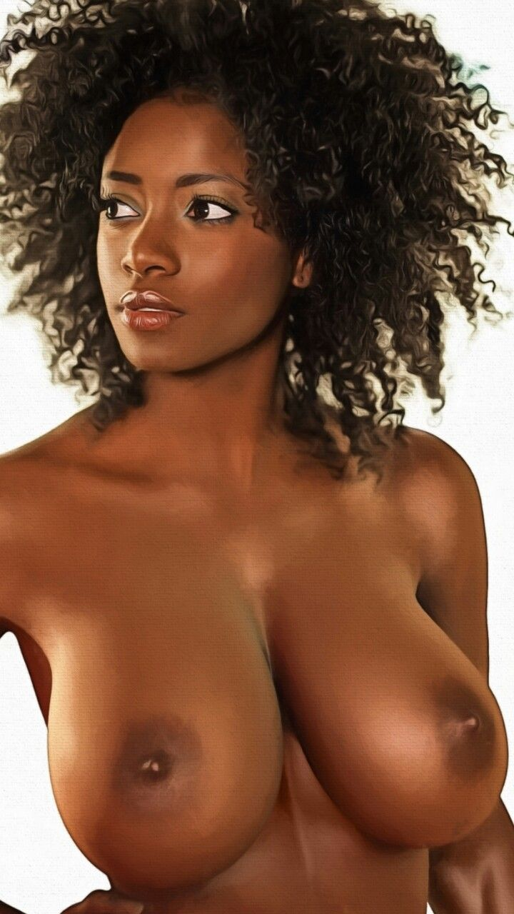 ebony model tits