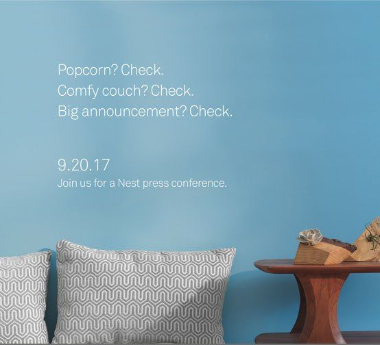 Earlier today Nest announced a new thermostat but it appears the company has more things to announce. Nest just sent invites to an event on September 20, saying it's a big announcement. No other details were offered. The company needs a hit and the product announced earlier today is not a...