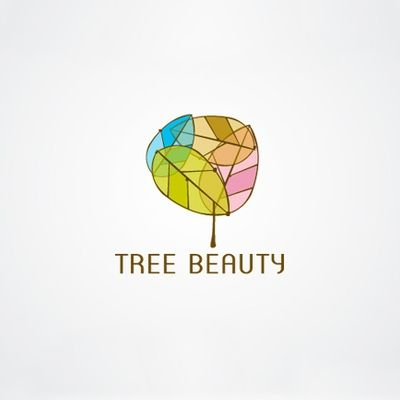 Tree beauty logo.