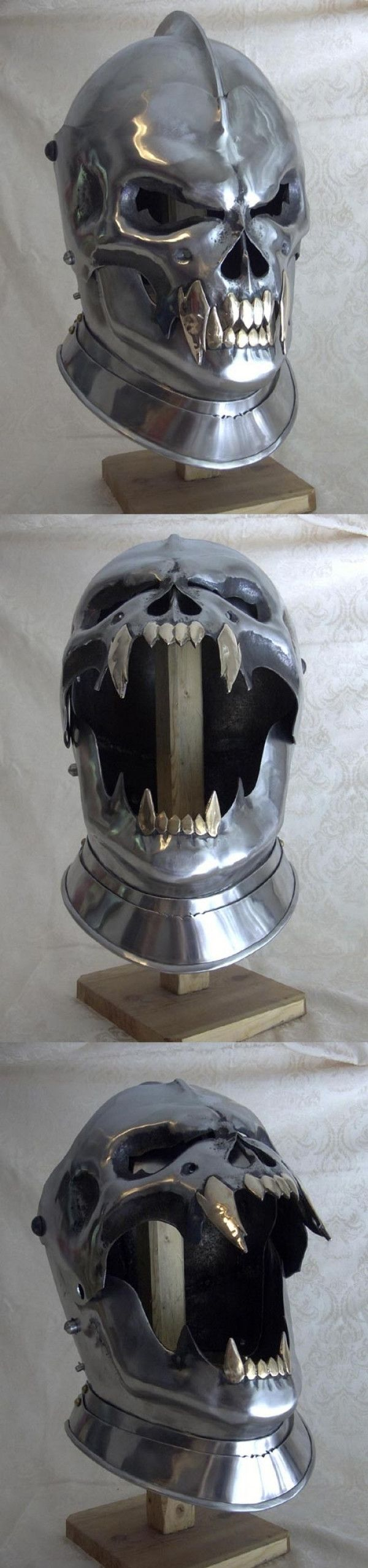 The most badass helmet ever crafted