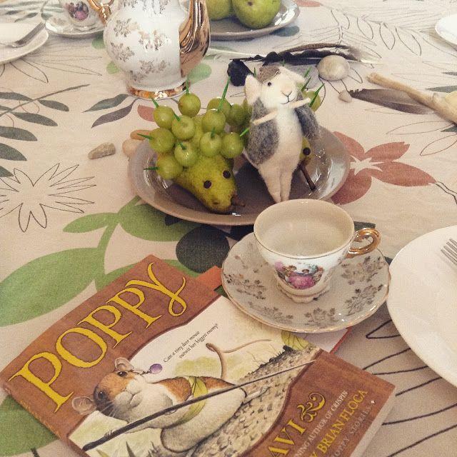 Life on Island Studio: Arrow Book Club Party ~ Poppy by Avi