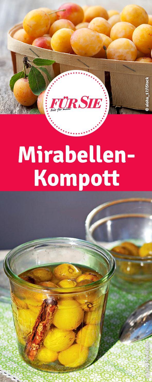 Mirabellen-Kompott | Mirabellenkompott