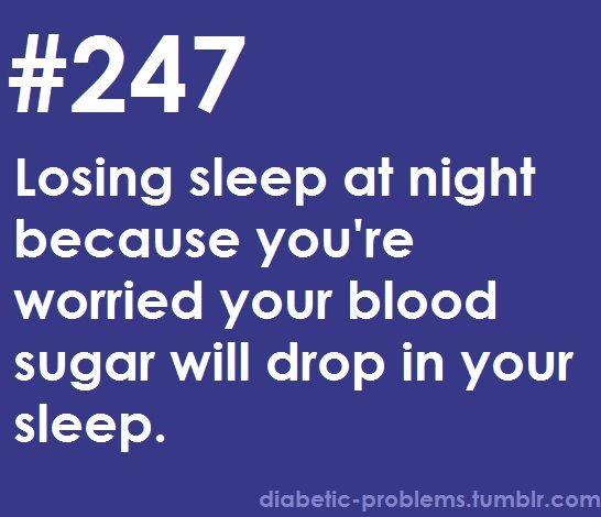 Life as a diabetic.