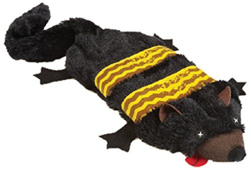 Grriggles Road Crew Unstuffy Fisher Cat Pet Toy * Read more at the image link.