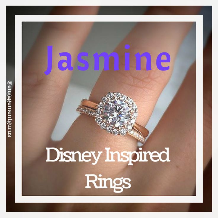 Disney Inspired Rings, get your daily dose of inspiration with these engagement rings.