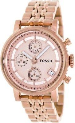 Relógio Fossil Women's ES3380 Decker Analog Display Analog Quartz Rose Gold Watch #Relógio #Fossil