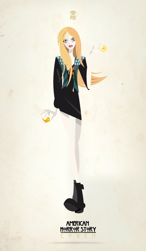 American Horror Story: Coven | Fã cria fantásticos pôsteres minimalistas