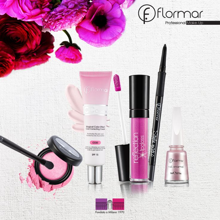 PINK! www.flormar.com