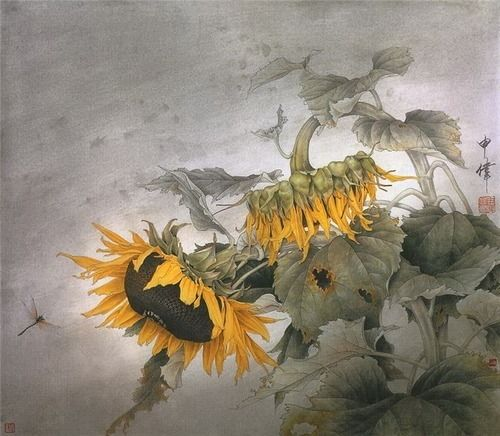 CHINESE PAINTING BY SHEN WEI...............PARTAGE OF WAW MALEE..........ON FACEBOOK.........