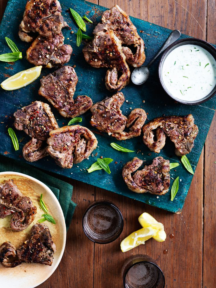 I Quit Sugar - Lamb Chops from The Beed and Lamb Team.