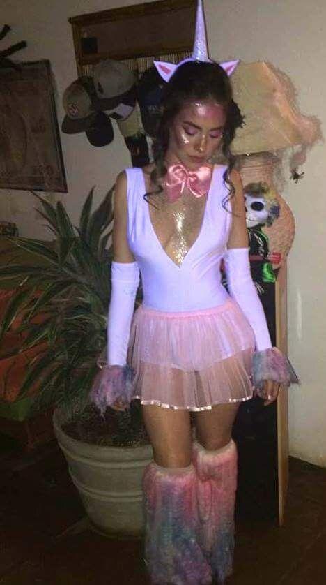 #fashion #style #costume #halloween #halloweencostume #halloweenmakeup #unicorn #unicornparty #love #design #doityourself #white