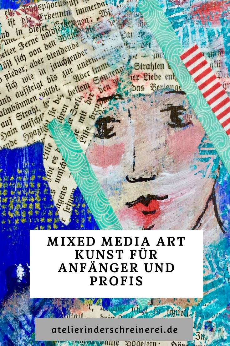 Mixed Media Art is probably the most enjoyable art form. It invites you to play with colors, shapes, pictures, stamps and templates. That's it …