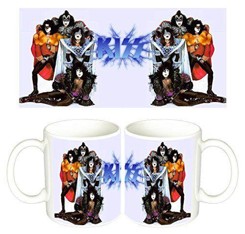 Kiss Gene Simmons Paul Stanley B Tasse Mug: Vous achetez 1 tasse en céramique blanche de haute qualité. Sur la photo vous pouvez voirles…