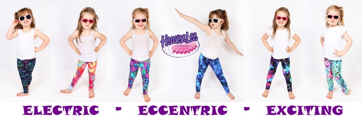 Our new Electric Leggins! Which is your favourite?
