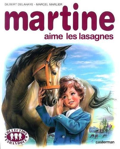 Martine & les lasagnes au boeuf