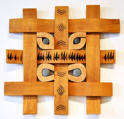 Peter Radley Kura Gallery New Zealand Art Design Large Weave Wall Art