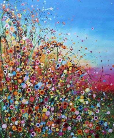 17 beste ideeën over Bloemen Schilderij op Pinterest ...