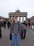 Brandenburger Tor Berlinright next to Starbucks :D