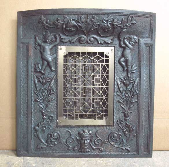 75 best images about cast iron fireplace back plates on