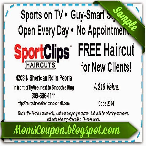 Sports clips coupon utah