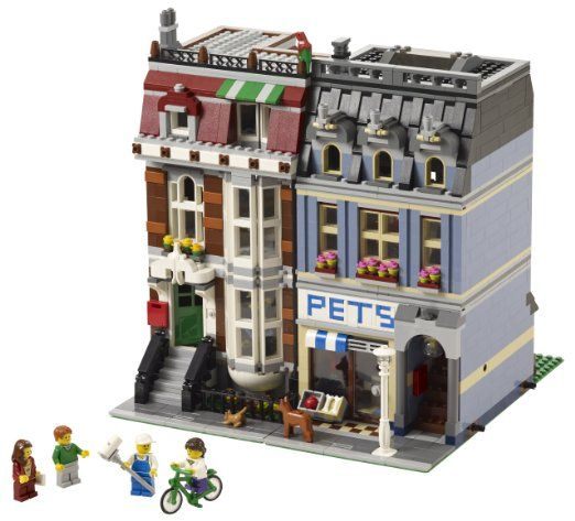 Amazon.com: LEGO Creator Pet Shop 10218: Toys & Games