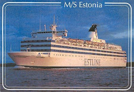 Went from Helsinki to Estonia breaking ice flows!  After the Iron curtain went down!