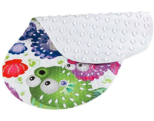#BliGli Kid Fish #Bath Mat: 1.Made of PVC - Durable, easy clean material,not friendly to bacteria and mold 2.This BliGli PVC mat reduces the risk of your child s...