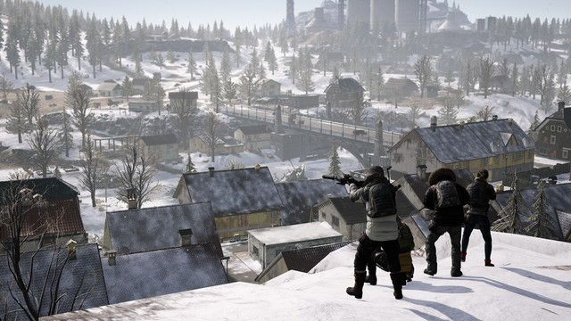 Pubgs Newest Map Vikendi Is All About Stealth But Its Still A Little Too Familiar Snow Map Snow Stealth