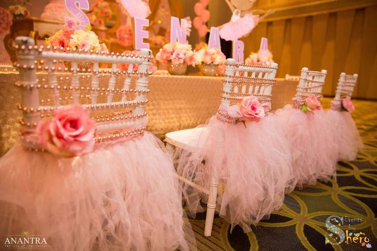 Stunning pink and gold ballerina birthday party! See more party ideas at CatchMyParty.com!
