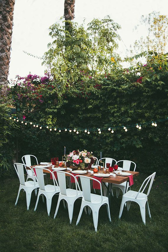 Summer Outdoors: Spaces with Tolix Chairs