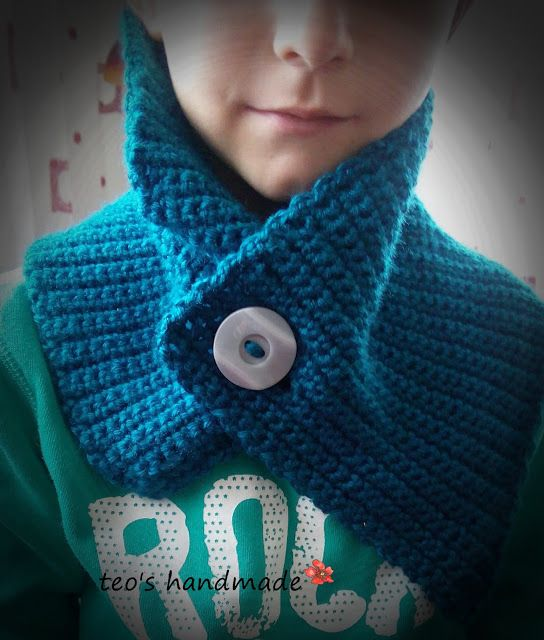 teo's handmade: Guler crosetat pentru baieti