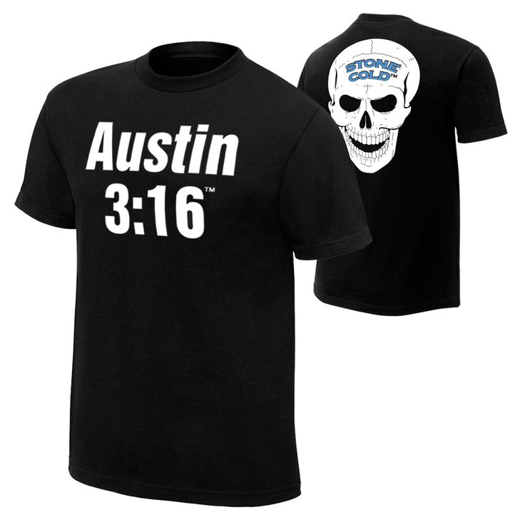 Stone Cold Steve Austin 3:16 Retro T-Shirt - WWE US