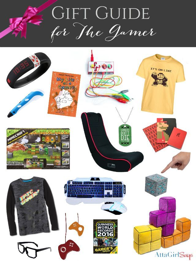 d35be4631e4ba Do you have a Minecraft fan or young gamer in your life  Check out this  list of cool gifts for gamers. It includes gear
