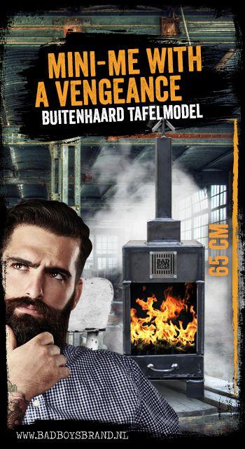 Mini-me - Buitenhaard tafelmodel - 100% made in jail