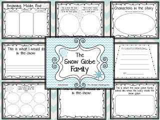 The Snow Globe Family FREEBIE pack {by Anita Bremer} Product updated January 2015!
