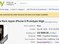 Auction for alleged iPhone 6 prototype ends with no sale The eBay auction for the prototype has come to a halt, and the item is no longer available. Could Apple have stepped in to put the kibosh on it?
