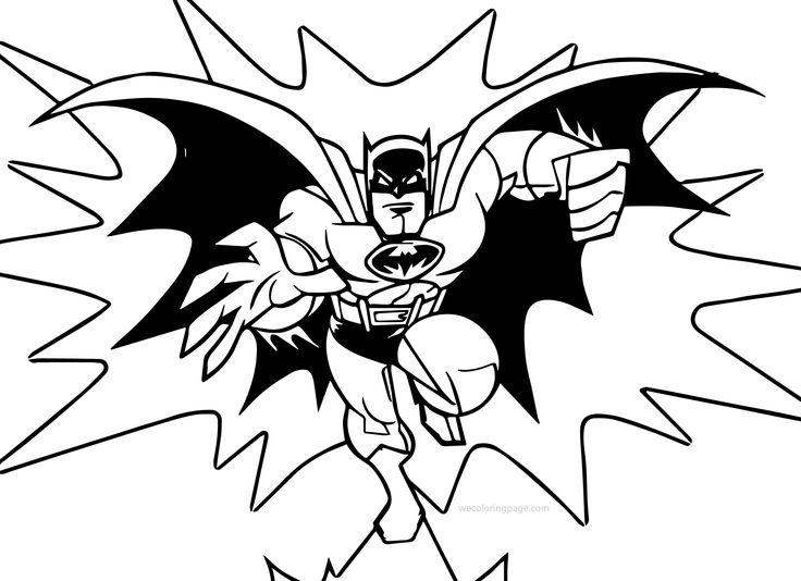 batman coloring pages wecoloringpage pinterest
