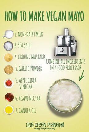 Vegan mayo, how to.