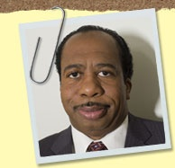 pictures from the office | The Office Cast Biographies - Leslie David Baker as Stanley Hudson
