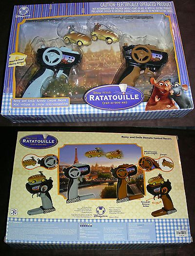 Ratatouille 158767: Disney Pixar Ratatouille Remy And Emile Remote Control Racers-New - Never Opened -> BUY IT NOW ONLY: $79.5 on eBay!