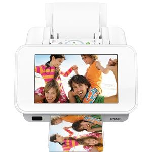 Buy Epson PictureMate Show Photo Printer and Digital Photo Frame (C11CA54203) at Walmart.com