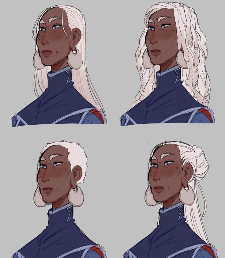 Awespme Character Inspiration: Some Lucretia Doodles, I Cant Decide On A Good