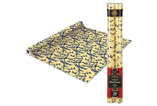 2 pack of shelf liner, Jardins sold on One Kings Lane (free signup to be a member)